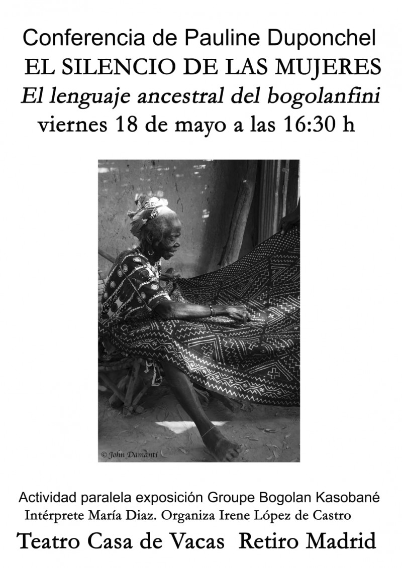 CONFERENCIA – EL ARTE ANCESTRAL DEL BOGOLANFINI